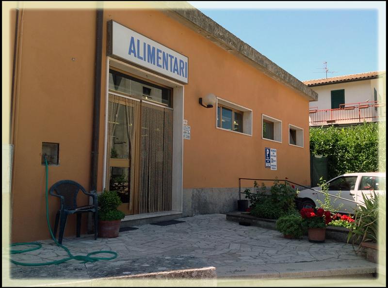 Negozio alimentari di Sarteano