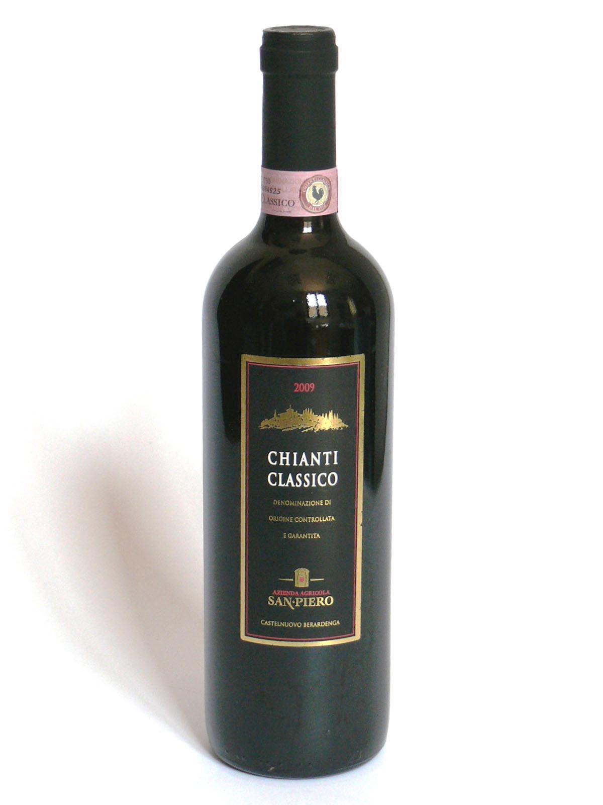 17187 - CHIANTI CLASSICO DOCG SAN PIERO CL.75