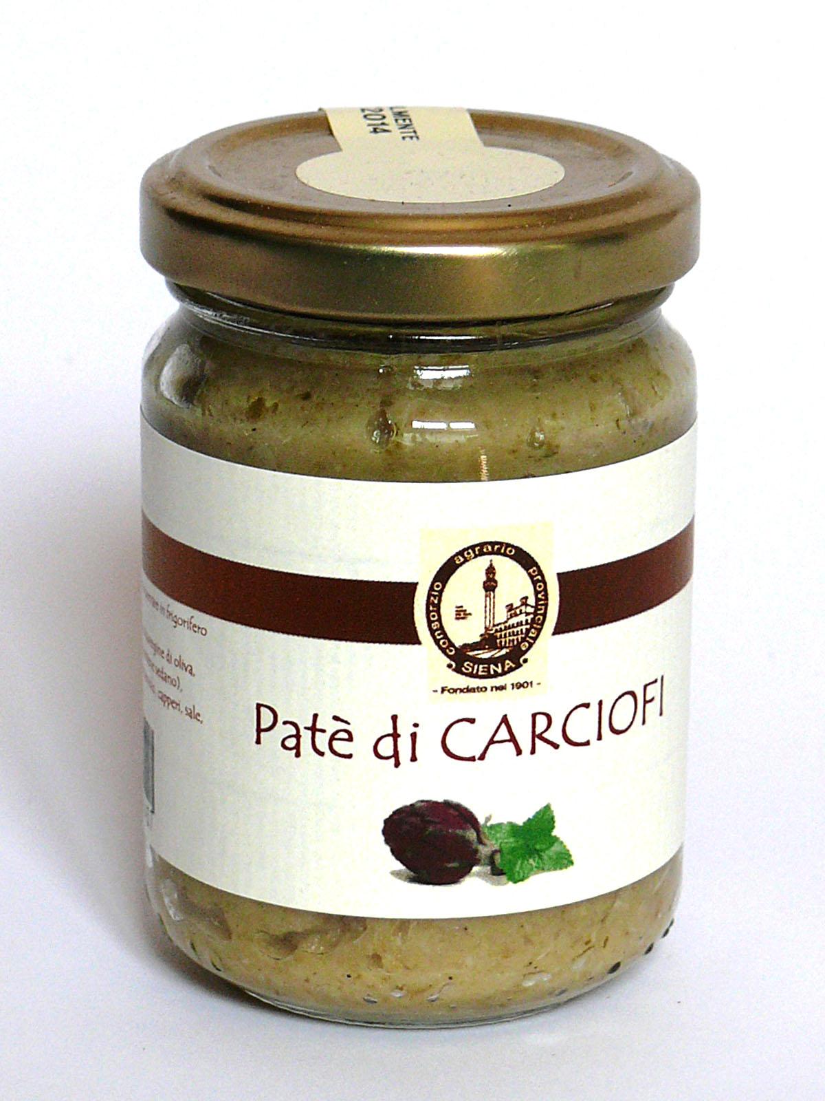 24242 - PATE' DI CARCIOFI GR. 130