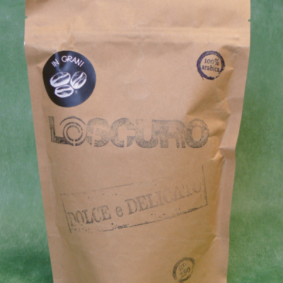 26567 - CAFFE' IN GRANI 100% ARABICA GR.250 LO SCURO