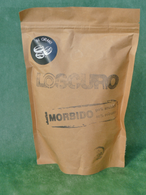 "26569 - CAFFE' IN GRANI ""MORBIDO"" GR.250 LO SCURO"