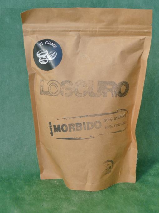 """26569 - CAFFE' IN GRANI """"MORBIDO"""" GR.250 LO SCURO"""