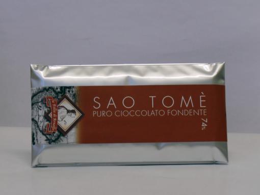 14854 - TAV. CIOCCOLATO SAO TOME' 74% FOND. GR.100