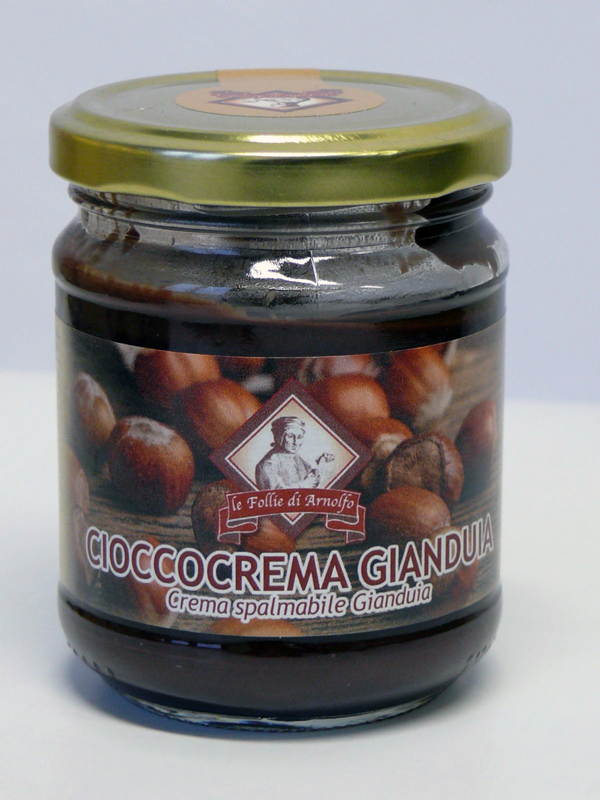 14777 - CREMA SPALMABILE GIANDUIA GR. 200