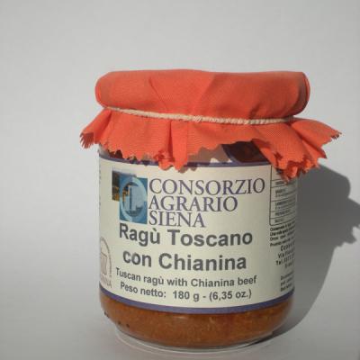 16605 - RAGU' TOSCANO CON CHIANINA GR. 180