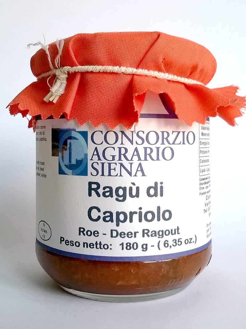 16600 - RAGU' DI CAPRIOLO GR.180